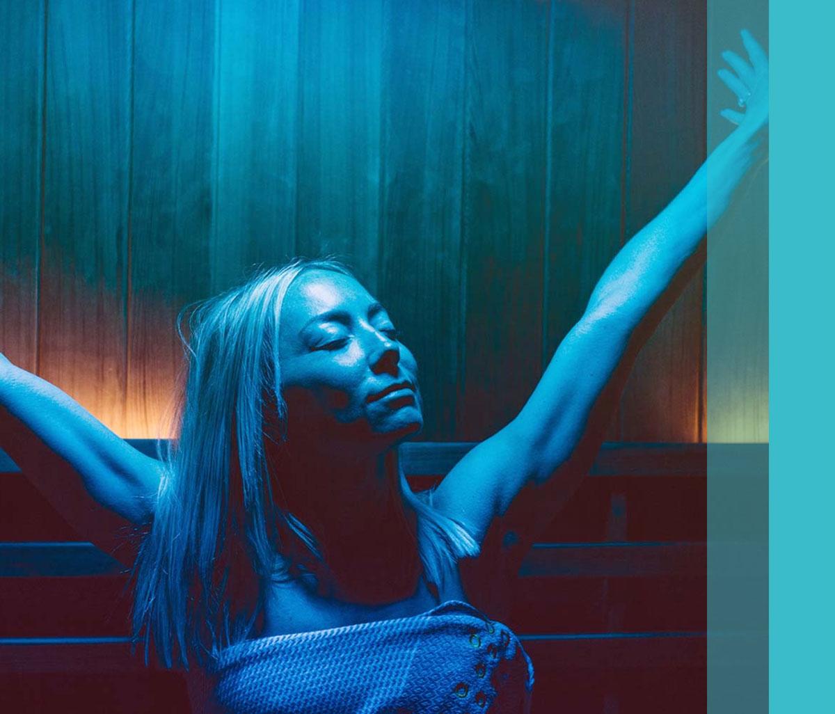Infrared sauna studio